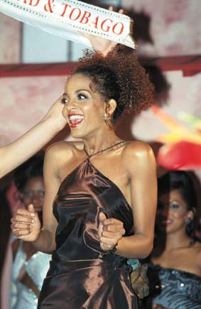 Alexia Charlerie - Miss T&T Universe 2001