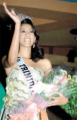 Nasma Mohammed - Miss T&T Universe 2002