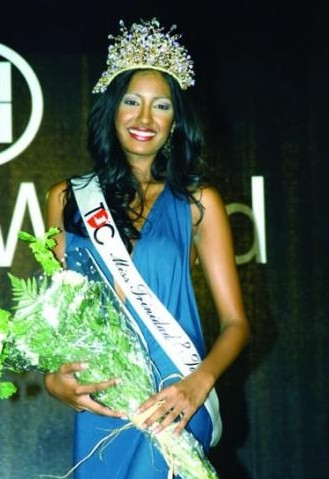 Valene Maharaj - Miss T&T World 2007